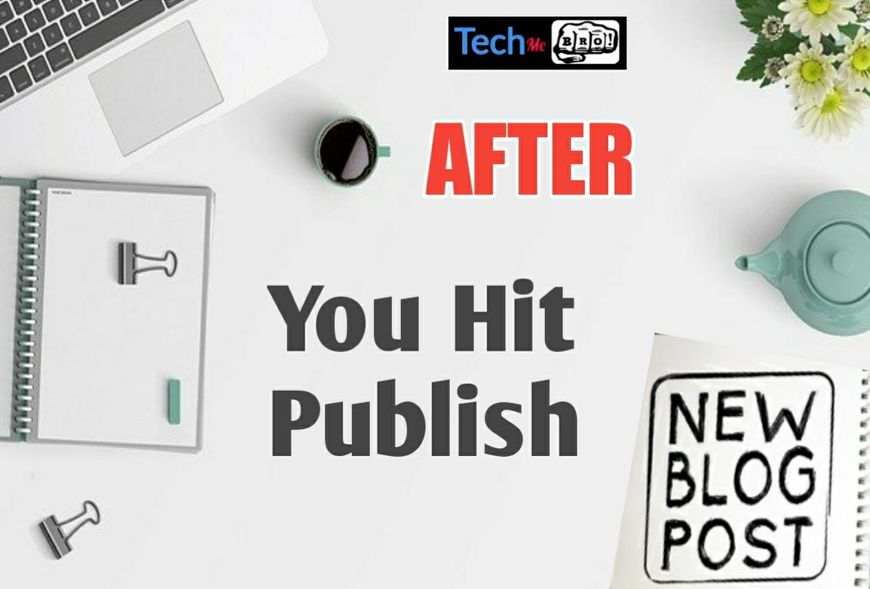 Things You Should Do After You Publish A New Blog Post