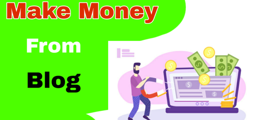 11 Ways to Get Up & Running Making Money from Blog 1