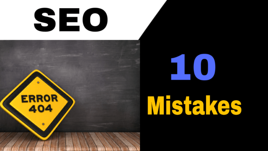 10 seo mistakes in blogging