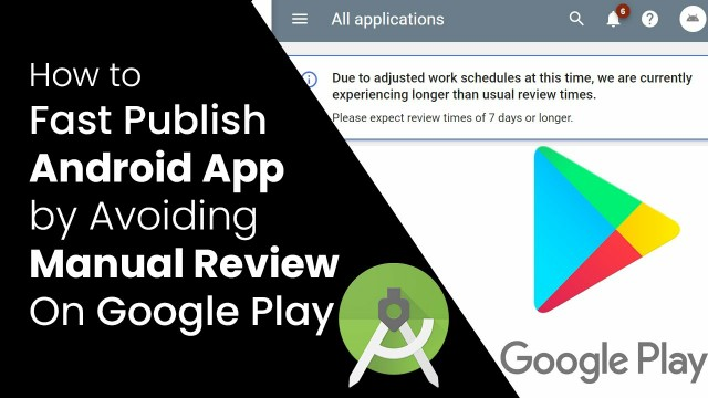 Google Play App In Review For Long Time Avoid Longer Review Times Solved