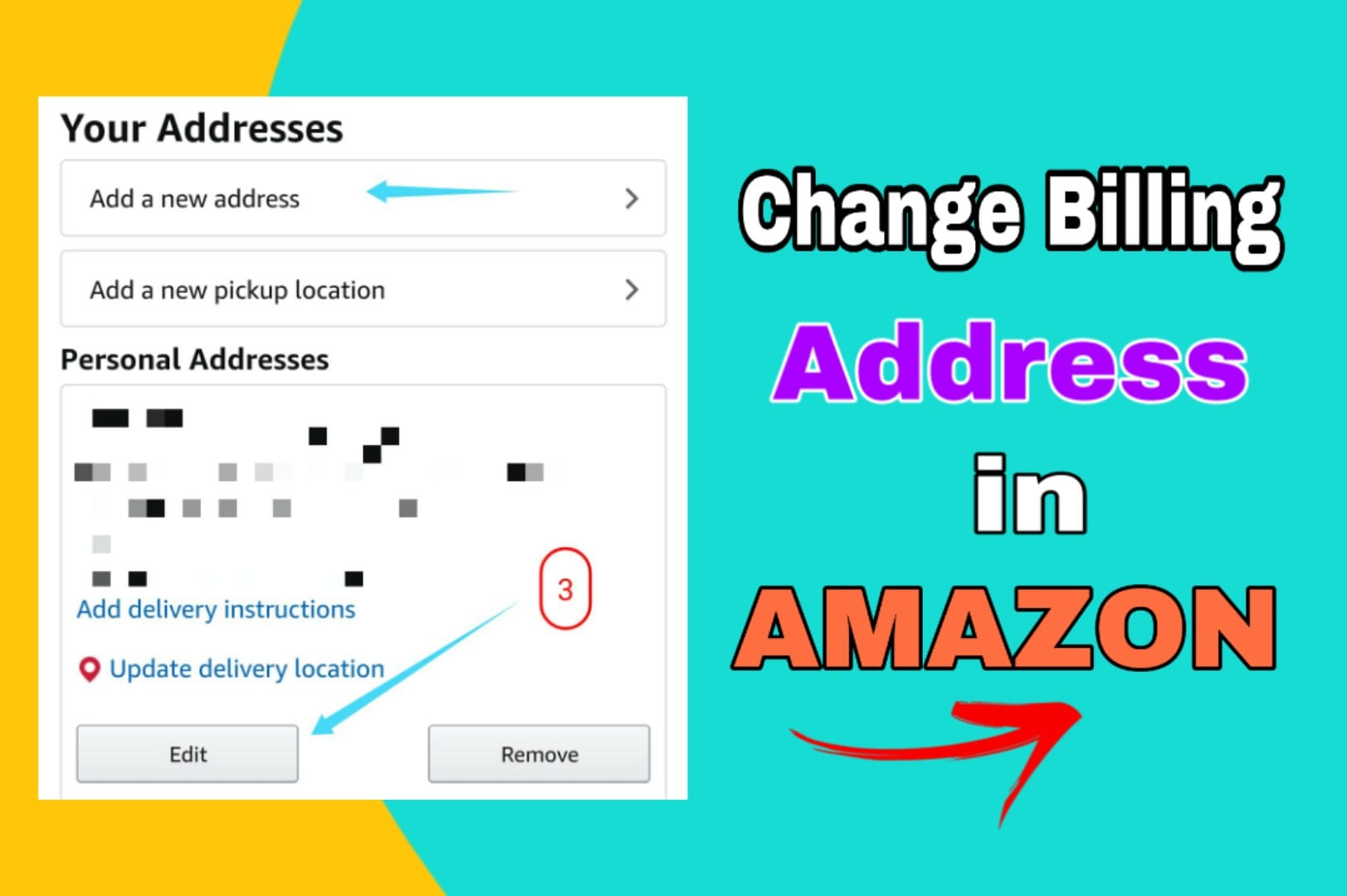 How to Change Billing Address in Amazon? 2